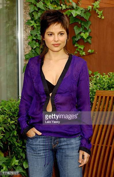 Elena Anaya during 'Van Helsing' Photocall Madrid at Hesperia Hotel in Madrid Spain