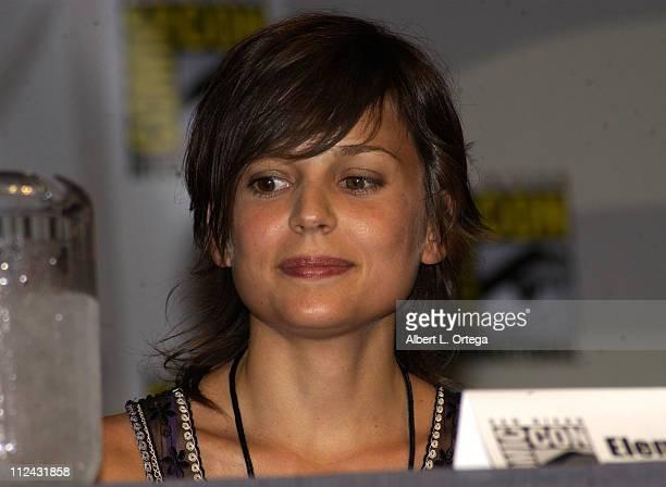 Elena Anaya of Universal's 'Van Helsing' during 2003 San Diego Comic Con International Day Three at The San Diego Convention Center in San Diego...