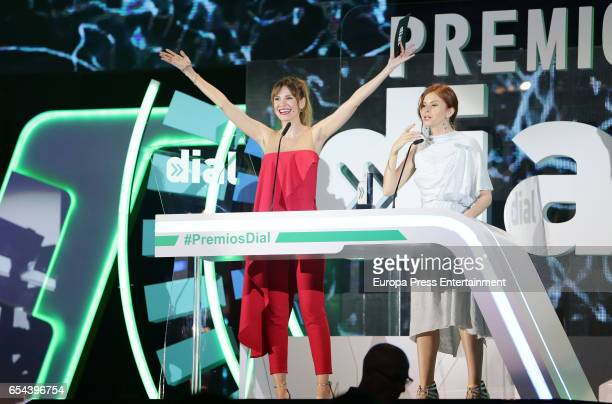 Elena Ballesteros and Marian Fernandez attend the 'Cadena Dial' awards gala on March 16 2017 in Tenerife Spain