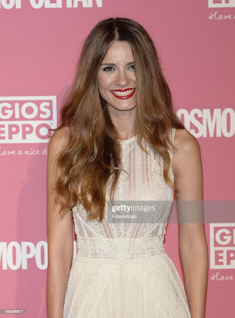 Elena Ballesteros attends Cosmopolitan Fun Fearless Female Awards 2013 at the Ritz Hotel on October 22, 2013 in Madrid, Spain.