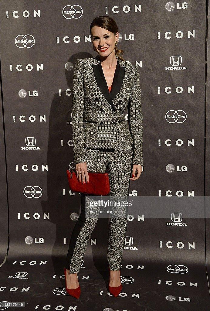Elena Ballesteros attends 'Icon' magazine launch party at the Circulo de Bellas Artes on November 6, 2013 in Madrid, Spain.