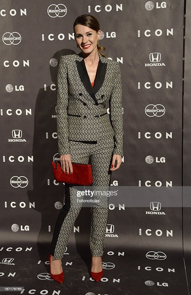 Elena Ballesteros attends 'Icon' magazine launch party at the Circulo de Bellas Artes on November 6, 2013 in Madrid, Spain.