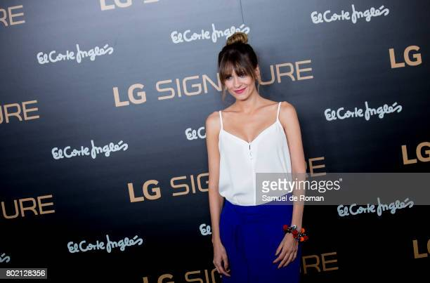 Elena Ballesteros attends LG Signature Presentation on June 27 2017 in Madrid Spain