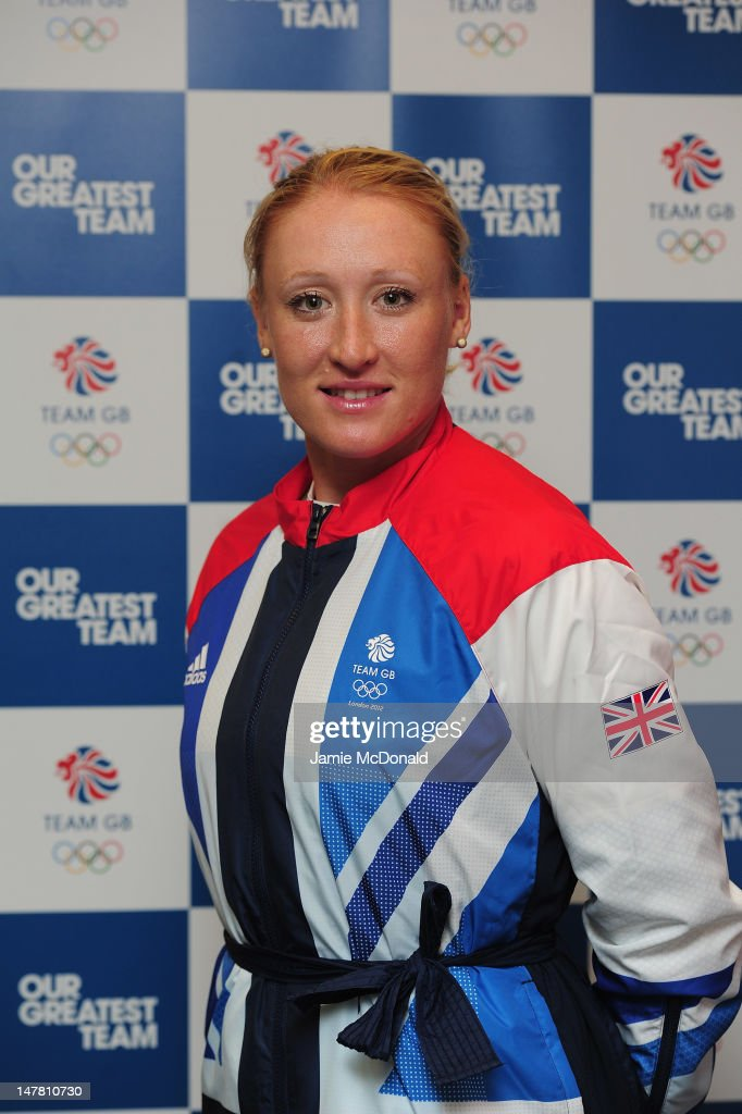 Elena Baltacha of Great Britain poses for a portrait during the Team GB kitting out event ahead of the London 2012 Olympic Games at Loughborough University on July 3, 2012 in Loughborough, England.