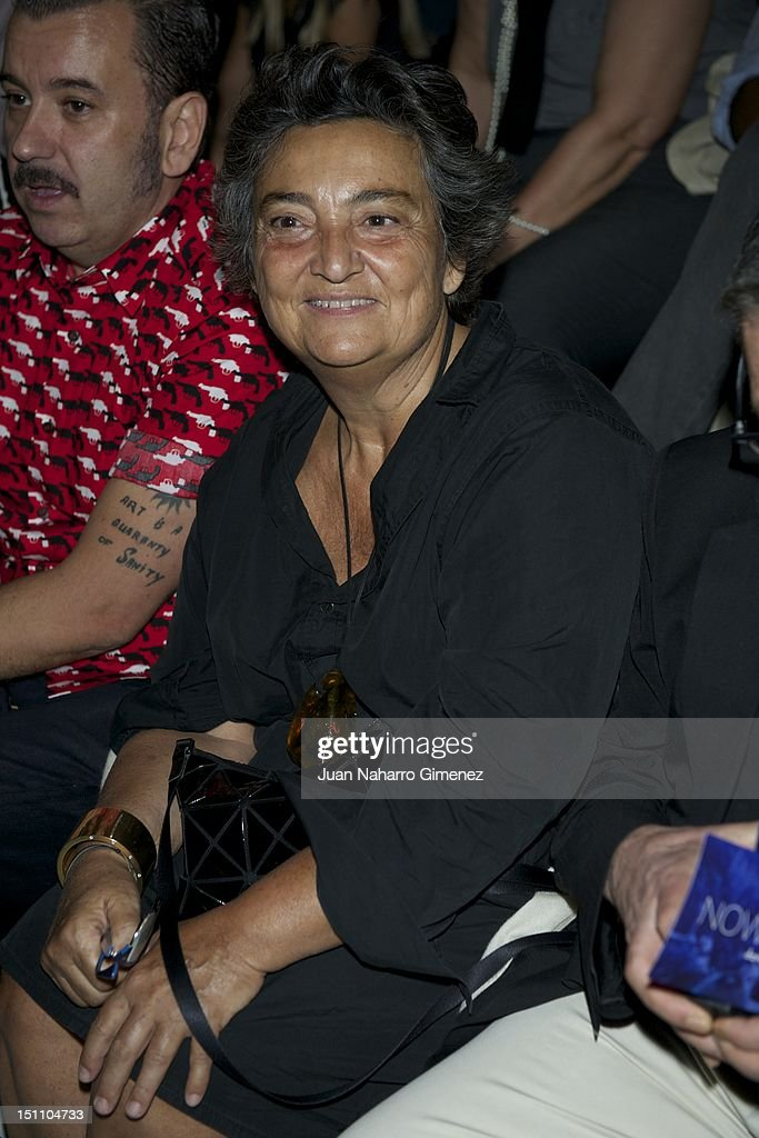 Elena Benarroch attends a fashion show during the Mercedes Benz Madrid Fashion Week Spring/Summer 2013 at Ifema on September 1 2012 in Madrid Spain