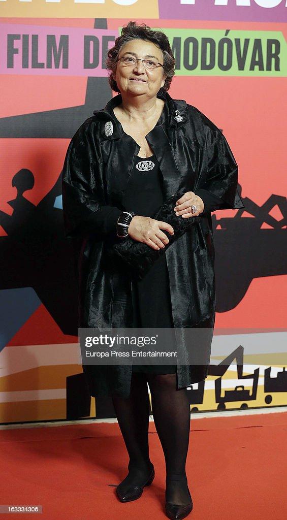 Elena Benarroch attends 'Los Amantes Pasajeros' premiere party at Casino de Madrid on March 7 2013 in Madrid Spain