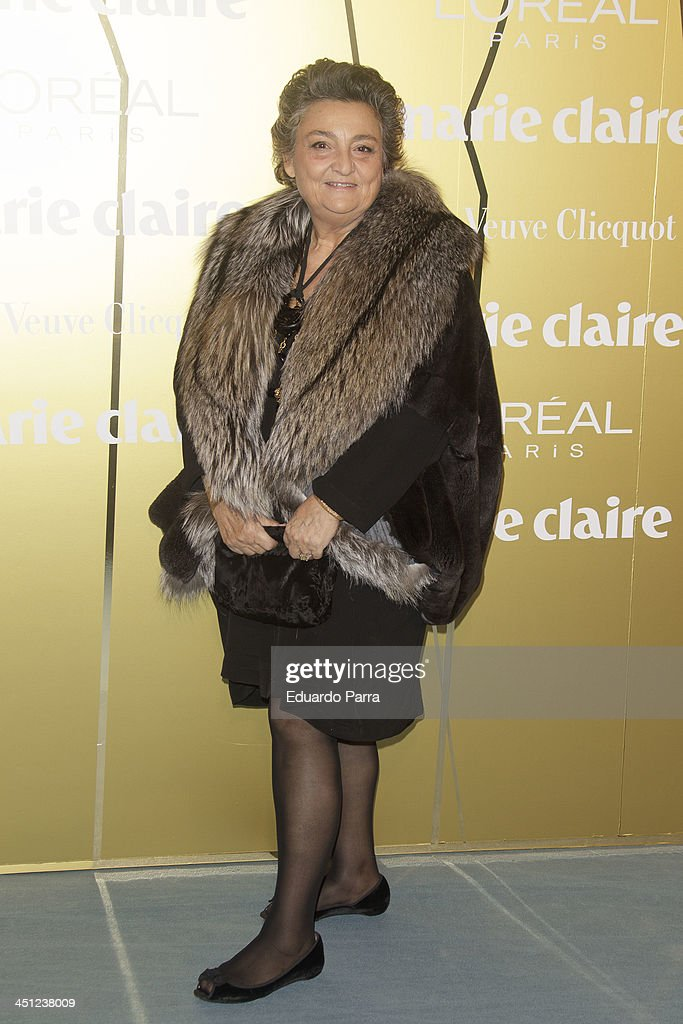 Elena Benarroch attends 'Marie Claire Prix de la moda' awards 2013 photocall at Residence of France on November 21 2013 in Madrid Spain