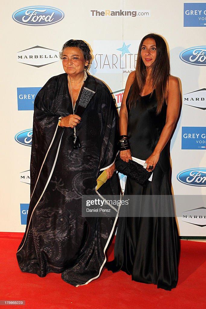 Elena Benarroch attends the 4rd annual Starlite Charity Gala on August 10 2013 in Marbella Spain