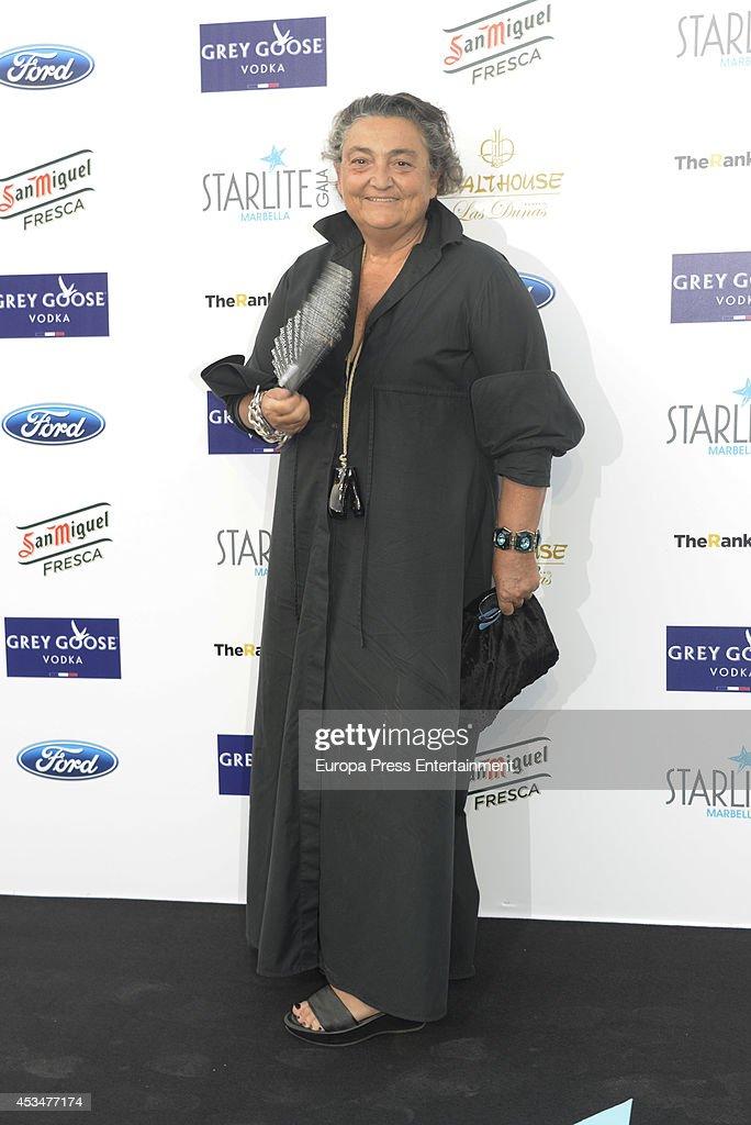 Elena Benarroch attends the 5th annual Starlite Charity Gala on August 9 2014 in Marbella Spain