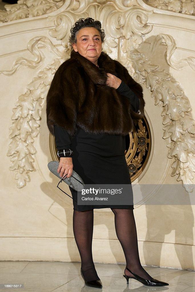 Elena Benarroch attends the Ralph Lauren Dinner Charity Gala at the Casino de Madrid in on November 14 2013 in Madrid Spain