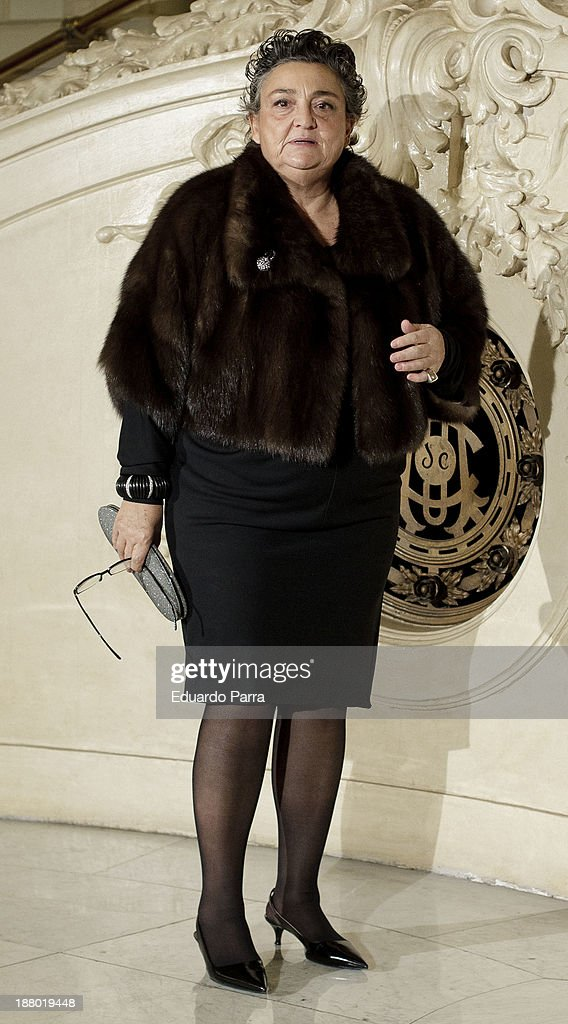 Elena Benarroch attends the Ralph Lauren Dinner Charity Gala at the Casino de Madrid on November 14 2013 in Madrid Spain