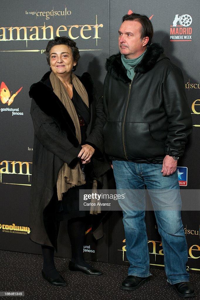 Elena Benarroch attends the 'The Twilight Saga Breaking Dawn Part 2' premiere at the Kinepolis cinema on November 15 2012 in Madrid Spain