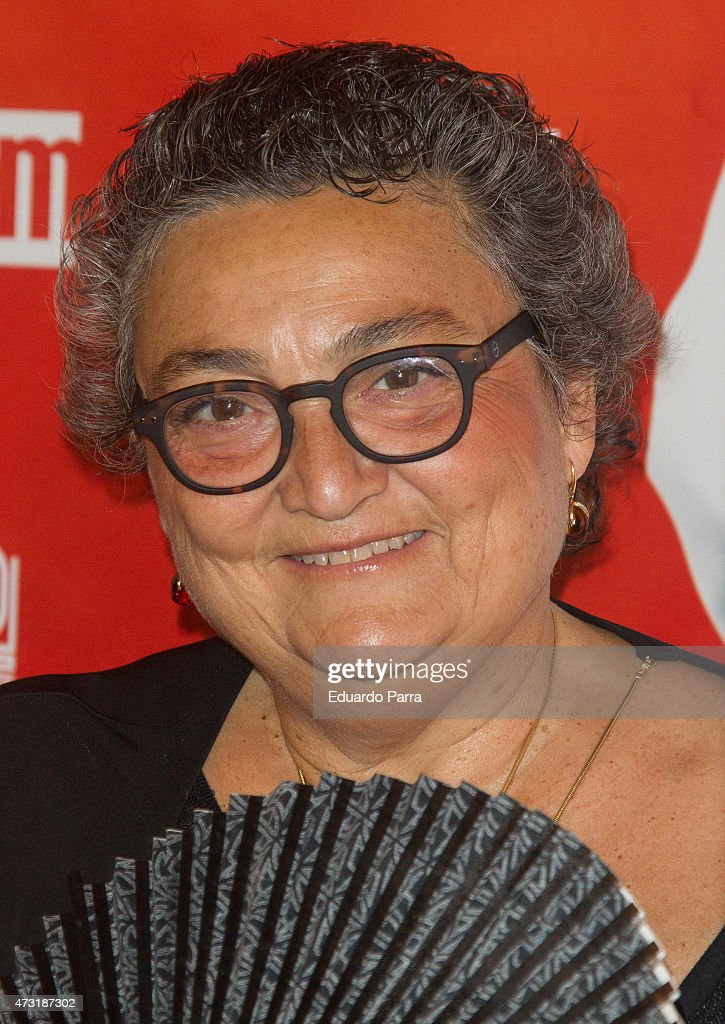 Elena Benarroch attends 'Una nueva amiga' premiere at Palacio de la Prensa cinema on May 13 2015 in Madrid Spain