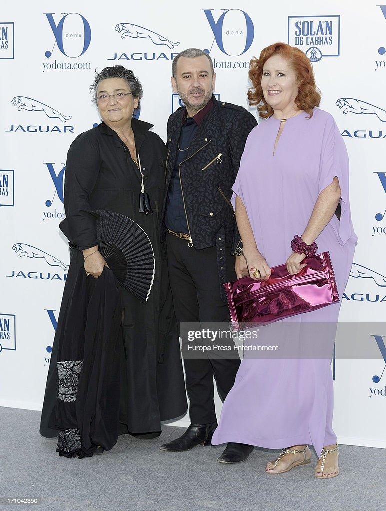 Elena Benarroch attends 'Yo Dona' International Awards 2013 at Finca La Munoza on June 20 2013 in Madrid Spain