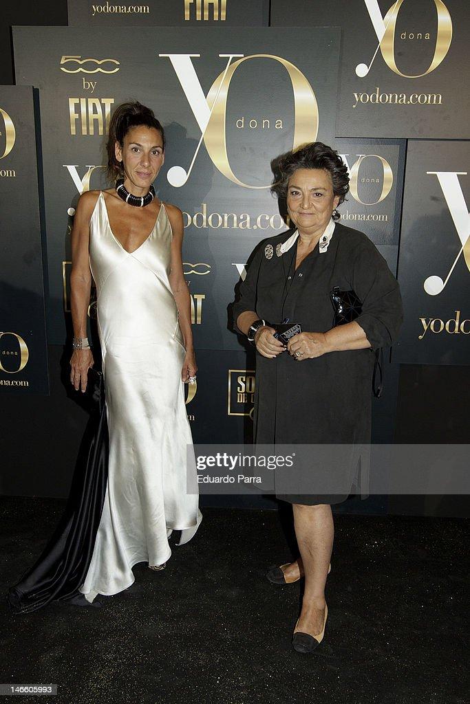 Elena Benarroch attends Yo donna international awards photocall at Association of Architects on June 20 2012 in Madrid Spain