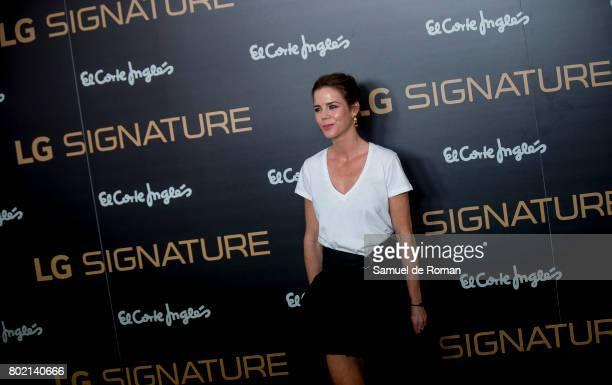 Elena Bono attends LG Signature Presentation on June 27 2017 in Madrid Spain