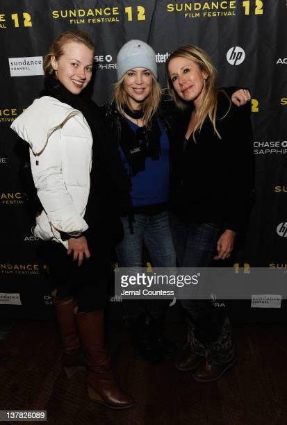 Elena Bugaeva Sherrie Rose and Elana Krausz attend the Alfred P Sloan Foundation Reception Prize Announcement during the 2012 Sundance Film Festival...