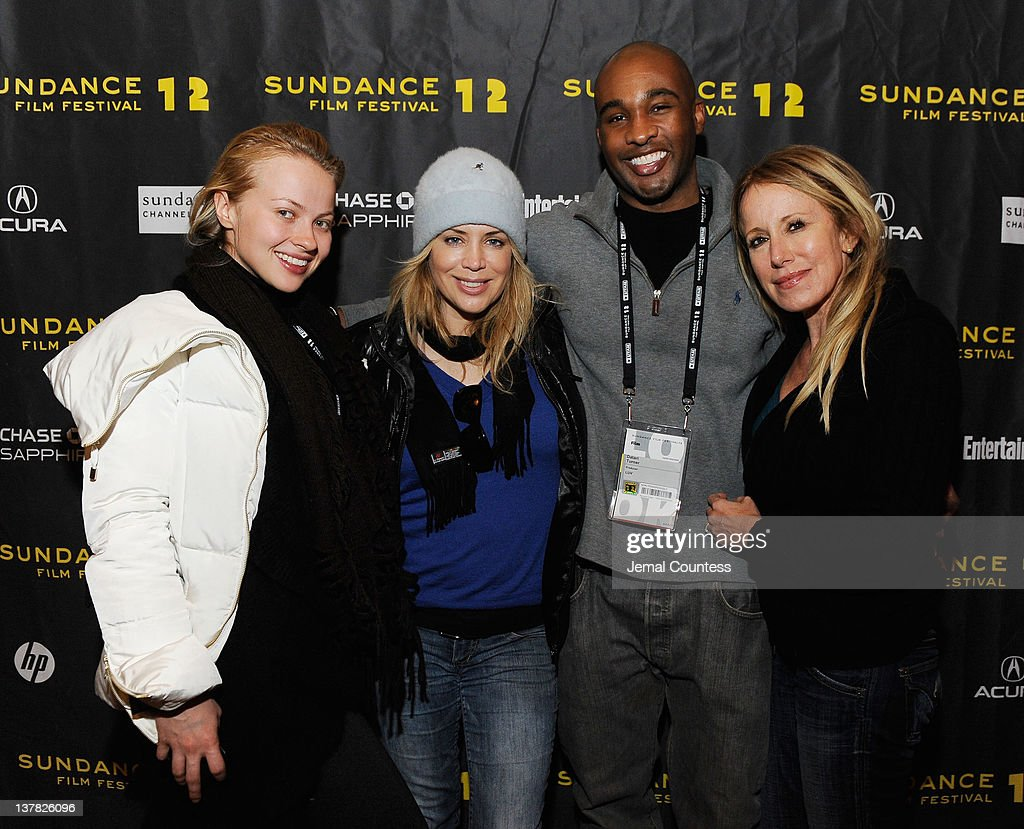Elena Bugaeva, Sherrie Rose, Datari Turner and Elana Krausz attend the Alfred P. Sloan Foundation Reception & Prize Announcement during the 2012 Sundance Film Festival on January 27, 2012 in Park City, Utah.