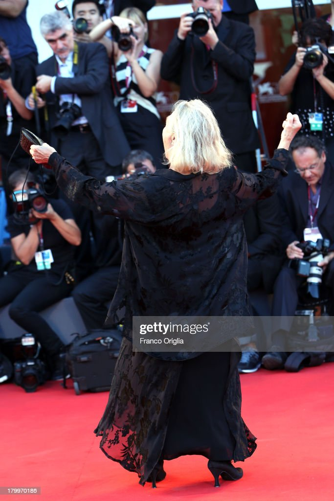 Elena Cotta attends the Closing Ceremony during the 70th Venice International Film Festival at the Palazzo del Cinema on September 7, 2013 in Venice, Italy.