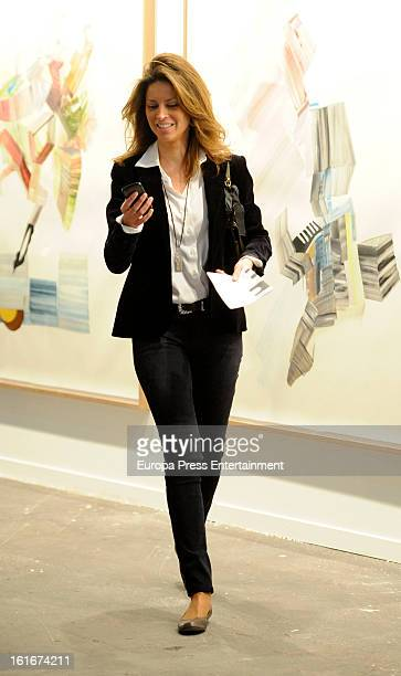 Elena Cue attends International Contemporary Art Fair ARCO 2013 on February 13 2013 in Madrid Spain