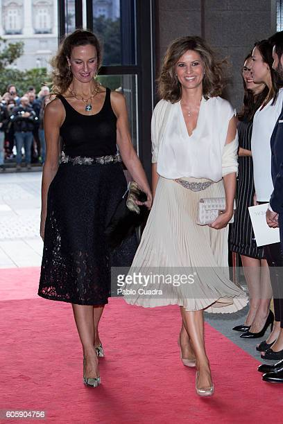 Elena Cue attends the inaguration of the Royal Theatre Season on September 15 2016 in Madrid Spain