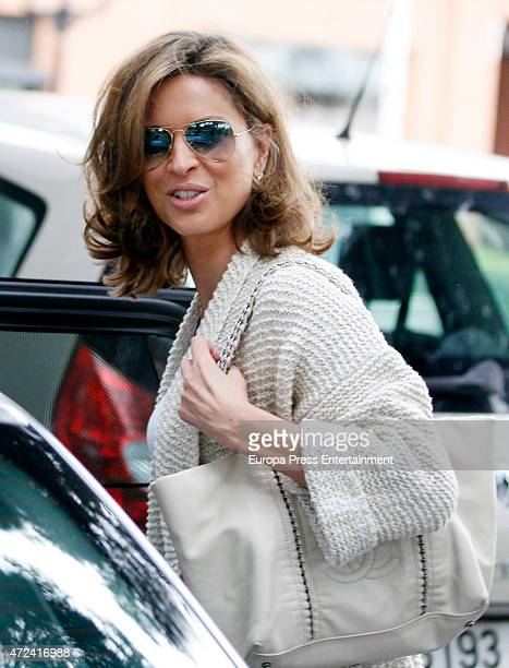 Elena Cue is seen on April 12 2015 in Madrid Spain
