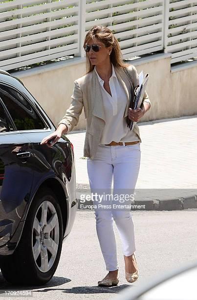 Elena Cue is seen on May 22 2013 in Madrid Spain