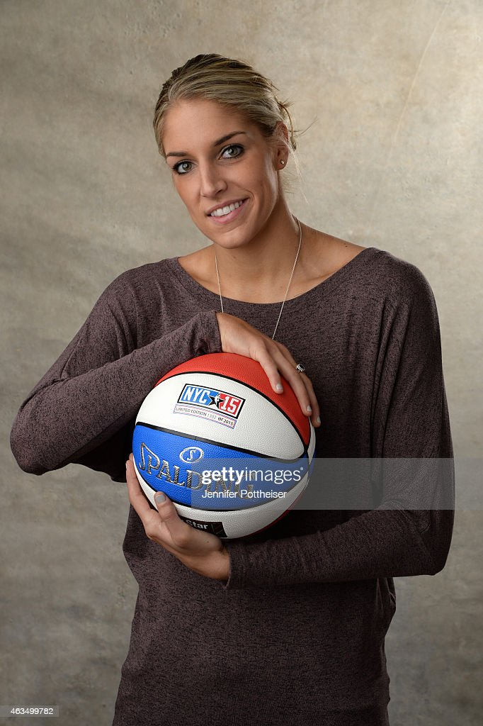 <a gi-track='captionPersonalityLinkClicked' href=/galleries/search?phrase=Elena+Delle+Donne&family=editorial&specificpeople=5042380 ng-click='$event.stopPropagation()'>Elena Delle Donne</a> #11 of the Chicago Sky poses for portraits during the NBAE Circuit as part of 2015 All-Star Weekend at the Sheraton Times Square Hotel on February 15, 2015 in New York, New York.