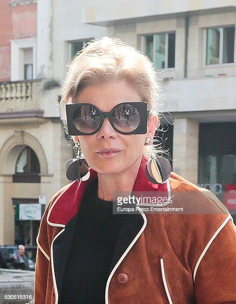 Elena Foster attends the meeting of jury members of The Prince of Asturias for the Arts Award on May 10 2016 in Oviedo Spain