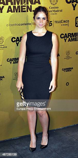 Elena Furiase attends 'Carmina Y Amen' Premiere on April 28 2014 in Madrid Spain