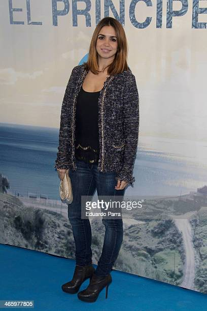 Elena Furiase attends 'El principe' premiere at Callao cinema on January 30 2014 in Madrid Spain