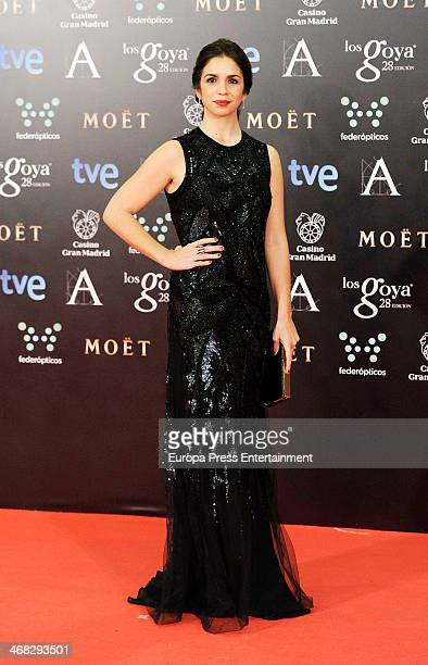 Elena Furiase attends Goya Cinema Awards 2014 at Centro de Congresos Principe Felipe on February 9 2014 in Madrid Spain