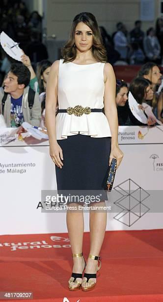 Elena Furiase attends 'La Vida Inesperada' premiere during the 17th Malaga Film Festival 2014 at Cervantes Theater on March 28 2014 in Malaga Spain