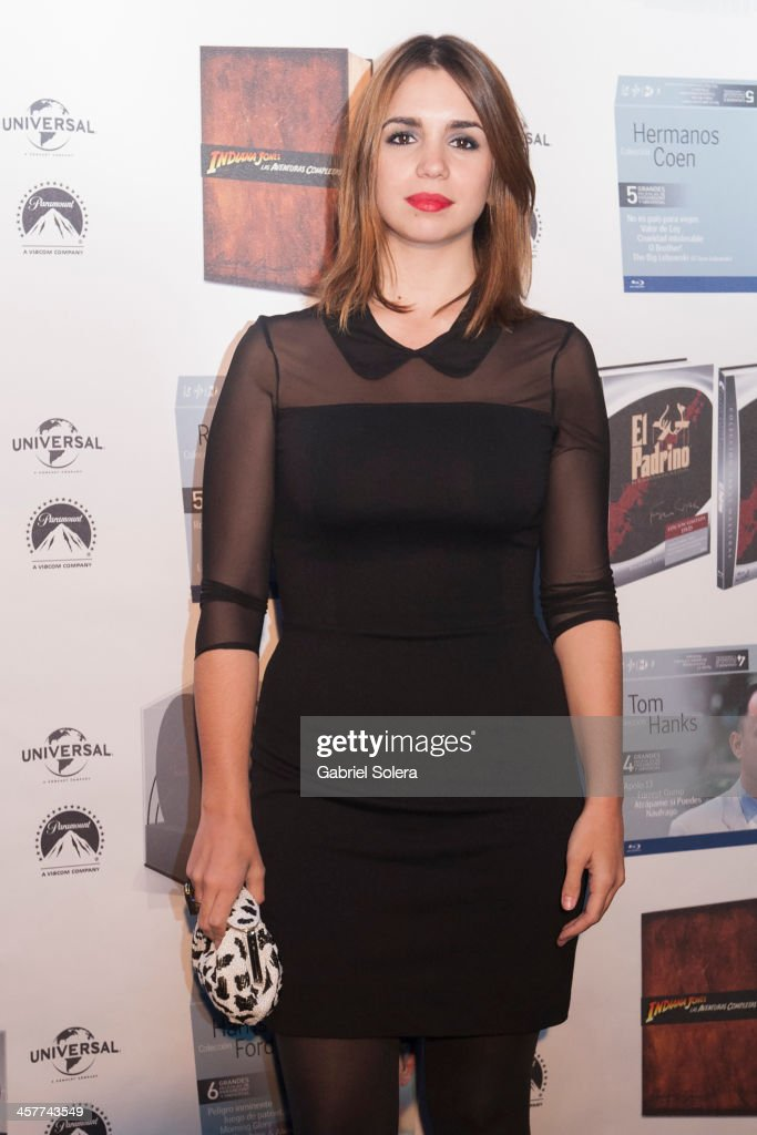 Elena Furiase attends Paramount Cinema Party at Tiffany's on December 18, 2013 in Madrid, Spain.