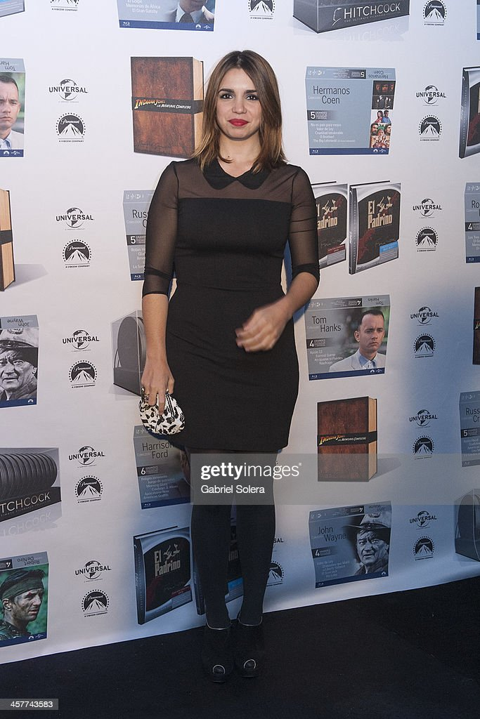 <a gi-track='captionPersonalityLinkClicked' href=/galleries/search?phrase=Elena+Furiase&family=editorial&specificpeople=4388104 ng-click='$event.stopPropagation()'>Elena Furiase</a> attends Paramount Cinema Party at Tiffany's on December 18, 2013 in Madrid, Spain.