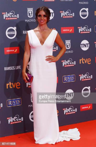 Elena Furiase attends Platino Awards 2017 at La Caja Magica on July 22 2017 in Madrid Spain