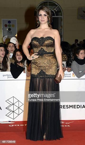 Elena Furiase attends the 17th Malaga Film Festival 2014 closing ceremony on March 29 2014 in Malaga Spain