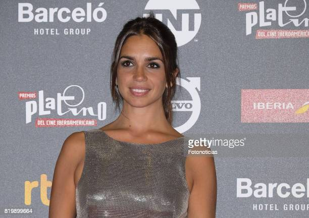 Elena Furiase attends the 2017 Platino Awards Welcome Party at Callao Cinema on July 20 2017 in Madrid Spain