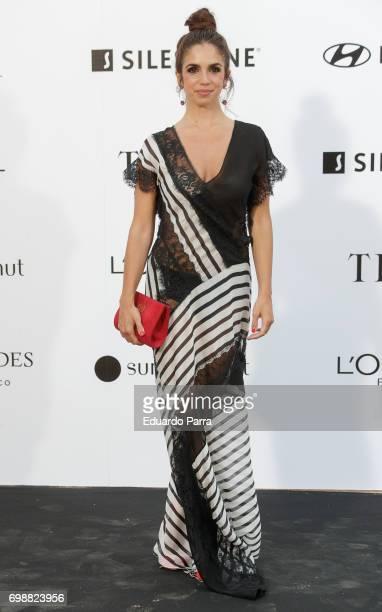 Elena Furiase attends the 'La Moda en la calle by Telva' event at Las Ventas bullring on June 20 2017 in Madrid Spain