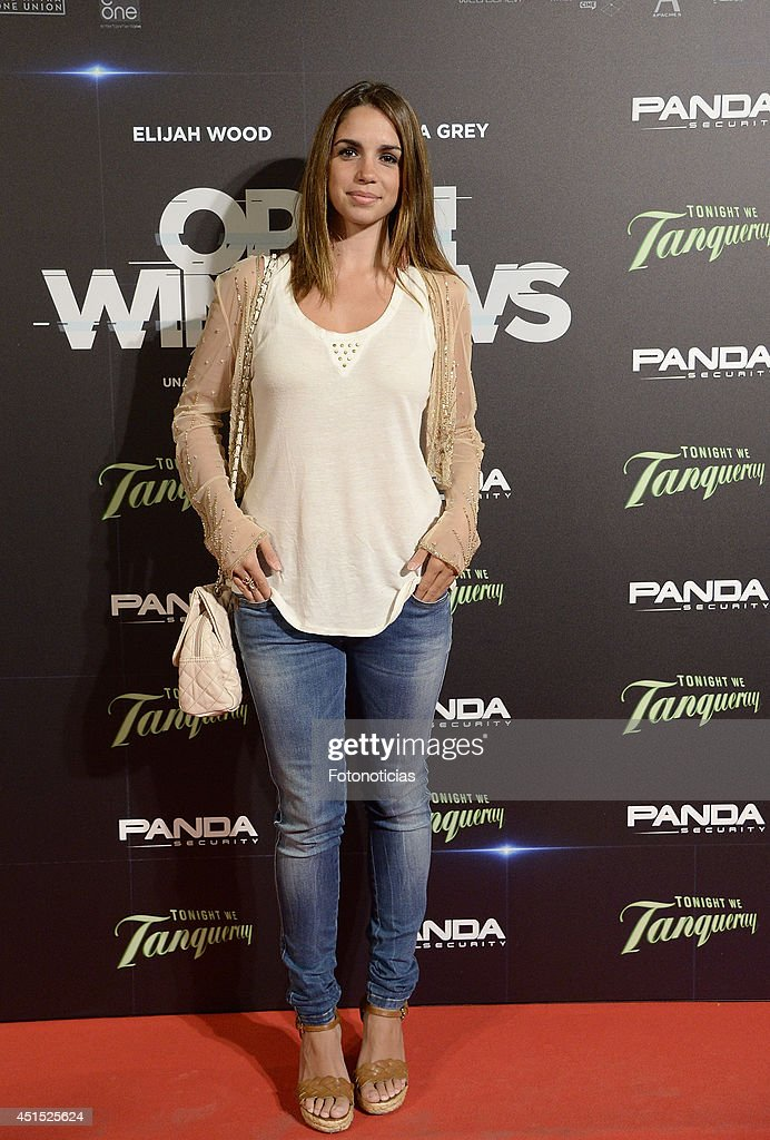 <a gi-track='captionPersonalityLinkClicked' href=/galleries/search?phrase=Elena+Furiase&family=editorial&specificpeople=4388104 ng-click='$event.stopPropagation()'>Elena Furiase</a> attends the 'Open Windows' premiere at Capitol cinema on June 30, 2014 in Madrid, Spain.