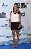Elena Furiase attends the premiere of 'El Nino' at Kinepolis Cinema on August 28 2014 in Madrid Spain