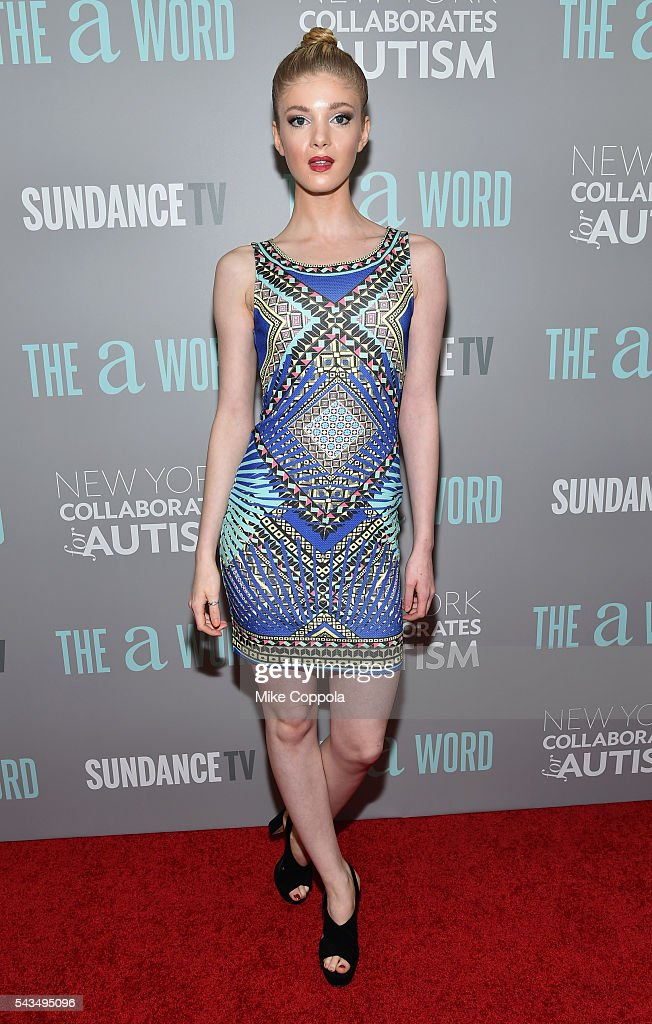 Elena Kampouris attends 'The A Word' New York screening at Museum Of Arts And Design on June 28, 2016 in New York City.