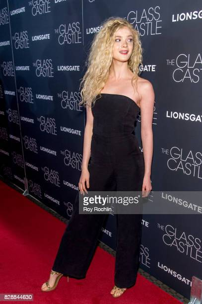 Elena Kampouris attends 'The Glass Castle' New York screening at SVA Theatre on August 9 2017 in New York City