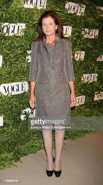 Elena Ochoa attends Vogue Joyas Awards 2011 at Madrid Stock Market on June 16 2011 in Madrid Spain