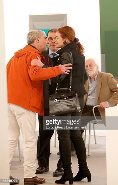 Elena Ochoa Foster attends ARCO 2015 International Contemporary Art Fair at Ifema on February 25 2015 in Madrid Spain