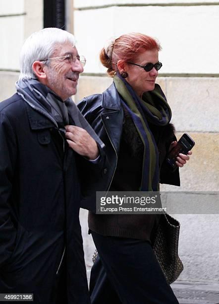 Elena Ochoa is seen on November 21 2014 in Madrid Spain