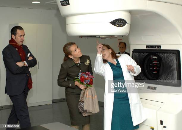 Elena of Spain and Jaime de Marichalar during Elena of Spain Presides the Opening of Quiron Hospital Madrid at Quiron Hospital in Madrid Spain