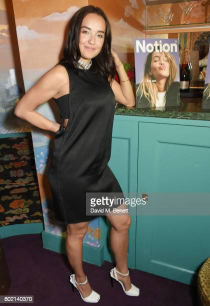 Elena Ora attends the Rita Ora dinner and performance at Annabel's on June 27 2017 in London England