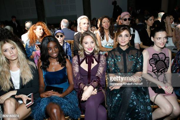 Elena Perminova Karidja Toure Deborah Francois Princess of Savoy Clotilde Courau and Roxane Mesquida attend the Elie Saab Haute Couture Fall/Winter...
