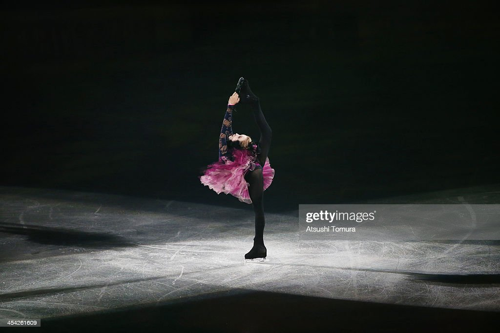 Elena Radinova of Russia performs her routine in the Gala during day four of the ISU Grand Prix of Figure Skating Final 2013/2014 at Marine Messe Fukuoka on December 8, 2013 in Fukuoka, Japan.